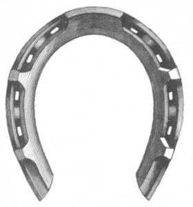 Horseshoe cutting