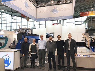 A very positive result after the BLECHEXPO exhibition (nov. 2017)