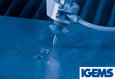 MÉCANUMÉRIC equips its water jet machine with IGEMS (March 2018)