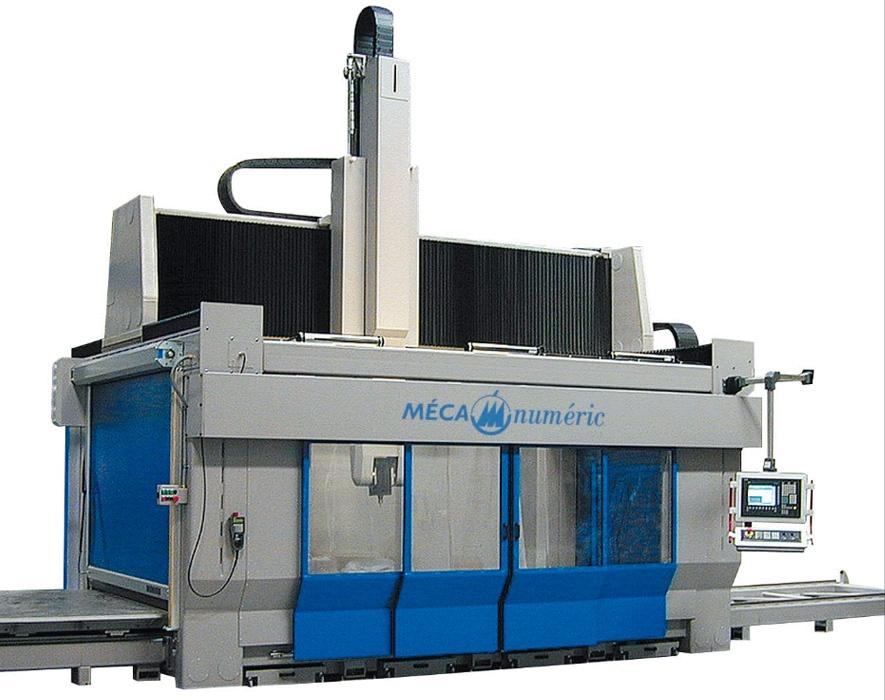 Mecanumeric NORMAPROFIL M series - 5 axis CNC milling machine